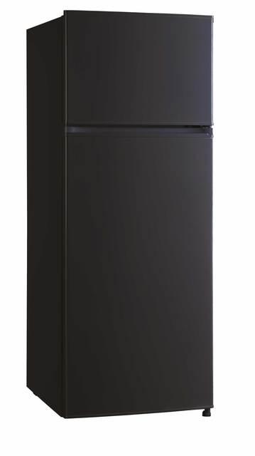Réfrigérateur congélateur 2 portes pose libre 143 cm noir