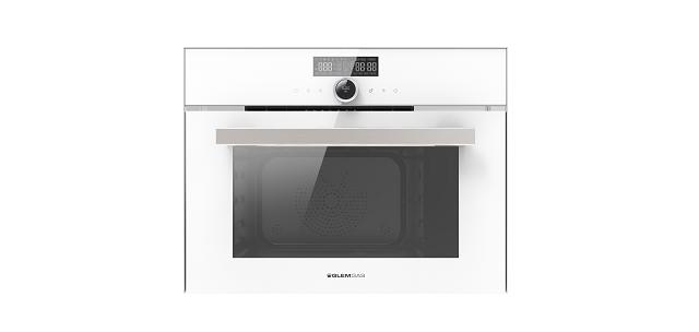 32L 嵌入式全功能蒸氣烤箱(白)