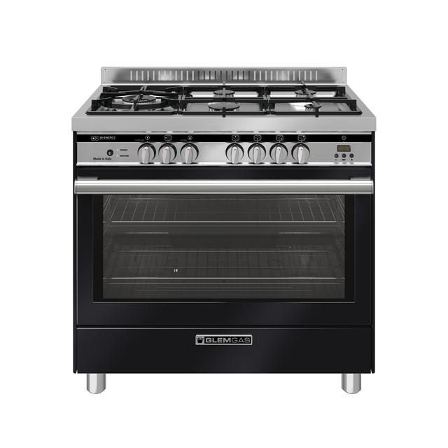 Gloss Black 90cm BI ENERGY Cooker - GS965DOPXN