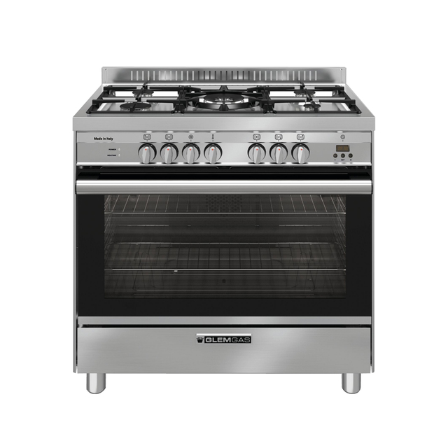 Stainless Steel 90cm Dual Fuel Cooker - GA965GEX