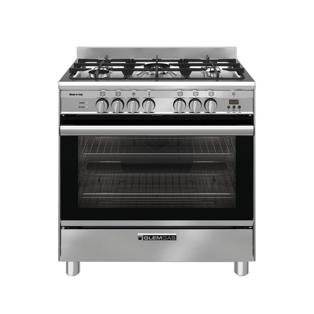 Stainless Steel 80cm Dual Fuel Cooker - GA865GE