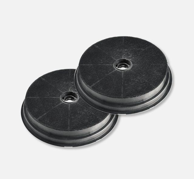Kit 2 filtri carbone circolare