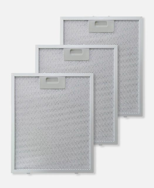 Kit 3 filtri metallici antigrasso
