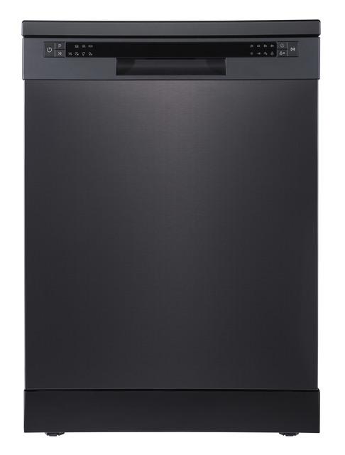 60cm Black Stainless Steel Electronic Dishwasher