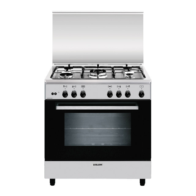 Static gas oven - electric grill - A855GI