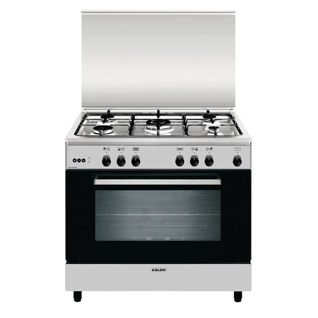A965vi forno gas grill elettrico ventola cottura prodotti glem gas - Forno incasso a gas ventilato ...