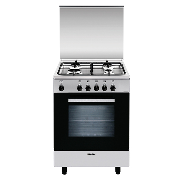 Gas oven with electric grill - AL6611EI