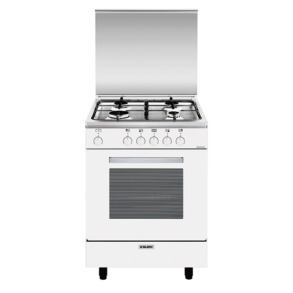 Gas oven with electric grill