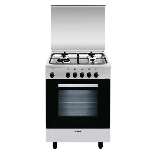 Gas oven with gas grill - AL6613GI