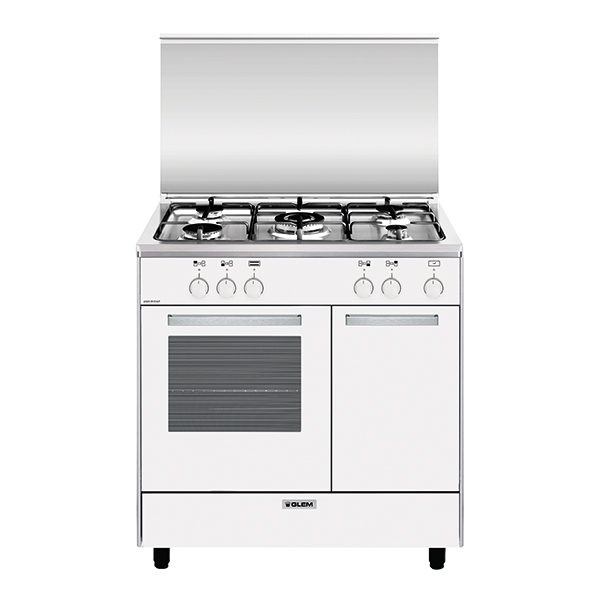Gas oven with gas grill - AP8512GX