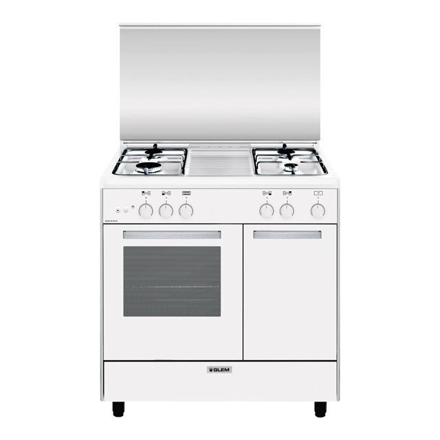 Ar854gx forno gas grill elettrico cottura prodotti - Cucine a gas con forno elettrico ...