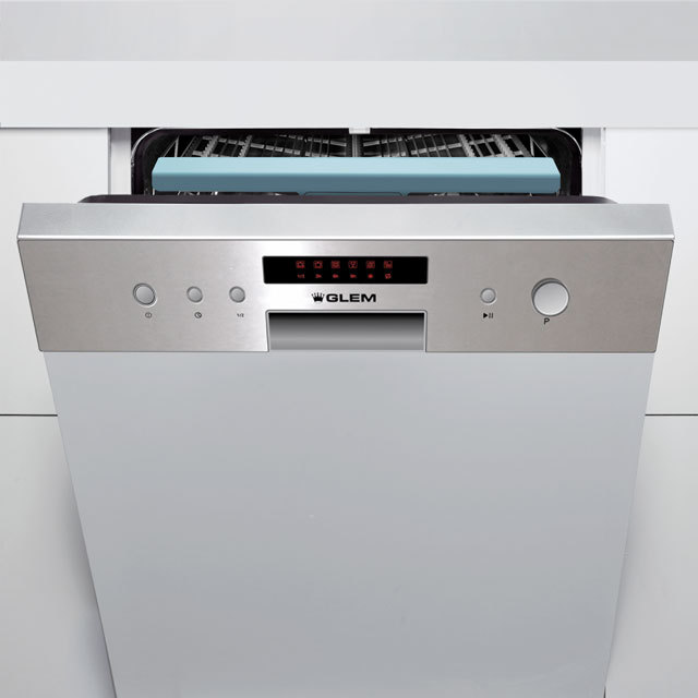 Máquina de lavar louça semi-integrável