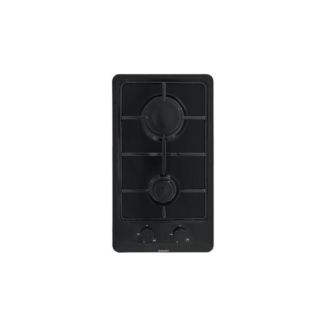 Domino gaz émaillé noir - GT32BK