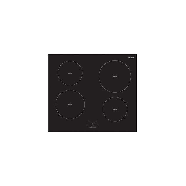 Placa de inducción 4 zonas