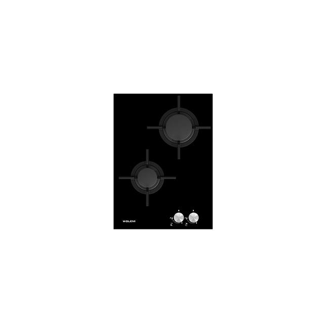 Domino vitrocéramique gaz haute puissance - GVP42HBK