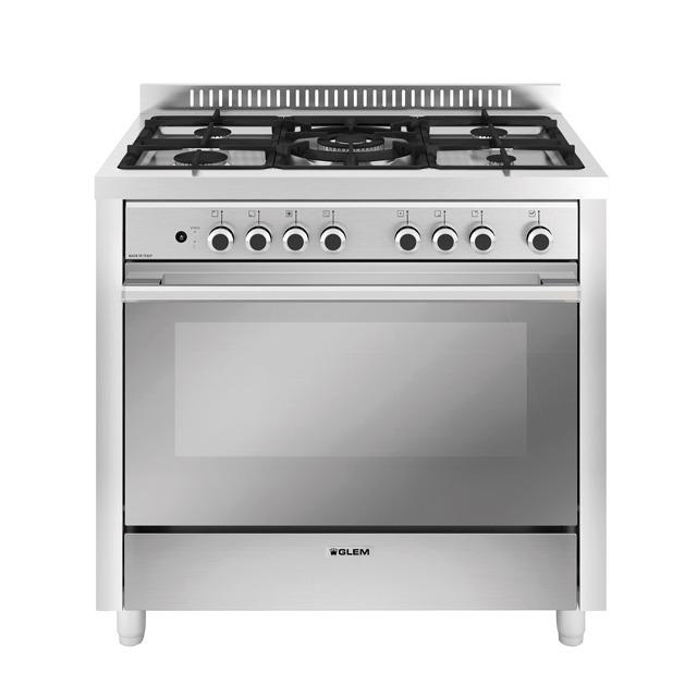 M965mi forno multifunzione 9pos con prh e pizza cottura prodotti glem gas - Cucina con forno a gas ventilato ...