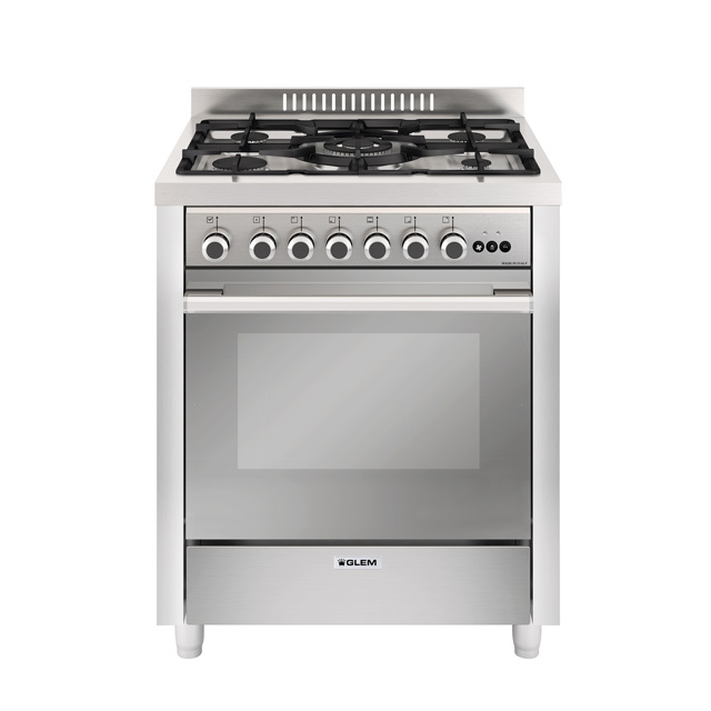 Multifunction gas oven with fan - MQ7612RI