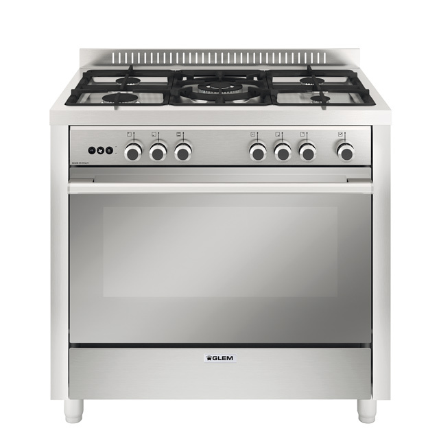 Multifunction gas oven with fan - MQB612RI