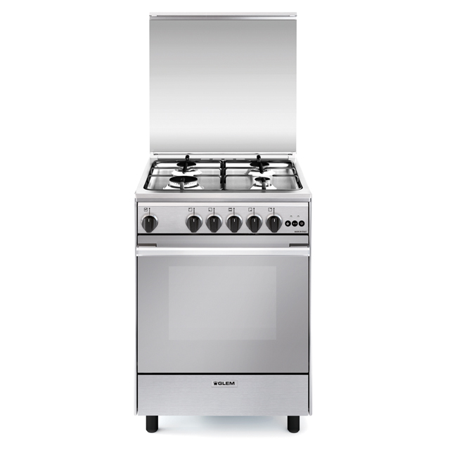 Multifunction gas oven with fan