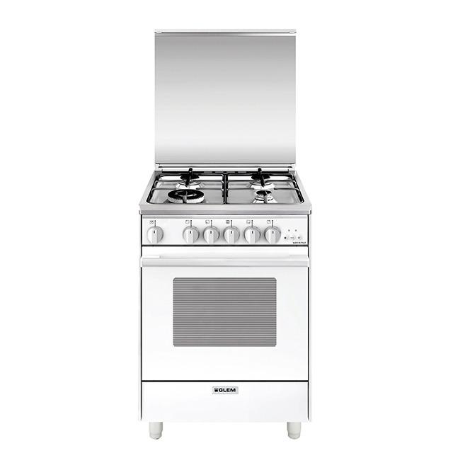 60x60 Мультифункциональная газовая духовка с конвекцией