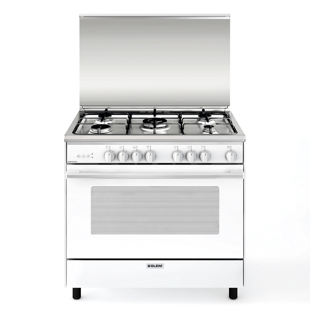Gas oven with Gas grill