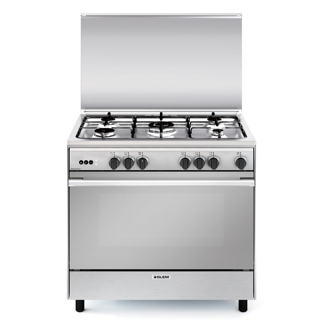 Multifunction gas oven with fan - UN9612RI