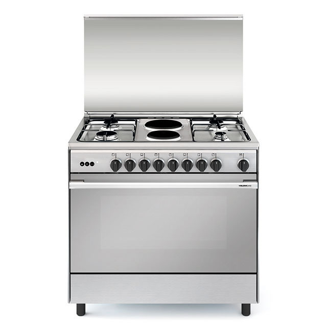 Multifunction gas oven with electric grill - UN9621RI