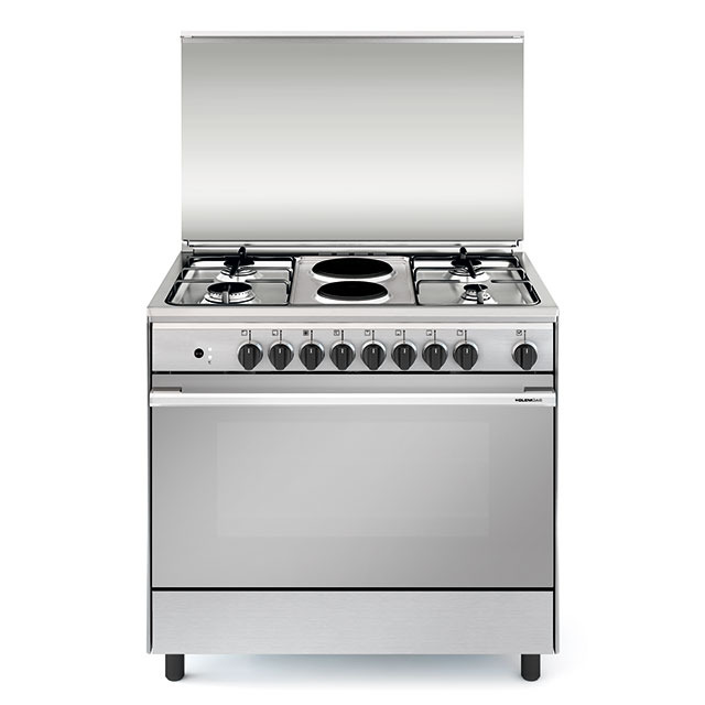 Multifunction gas oven with fan - UN9621WI